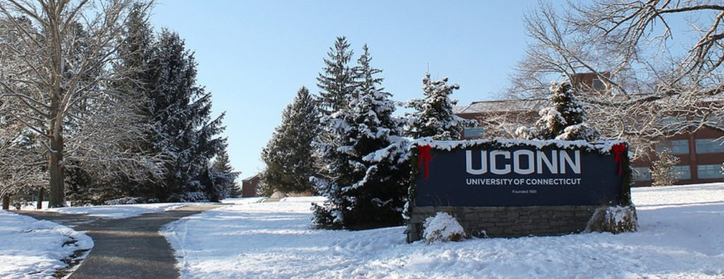 uconn sign in winter
